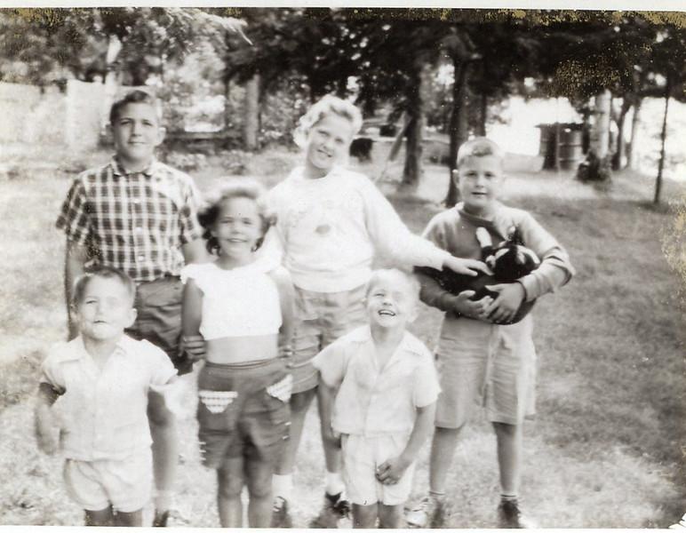 1957 John, Sue, Greg, Peggy, Buck & Chuck.jpg