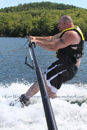 2013-08-08 Waterskiing