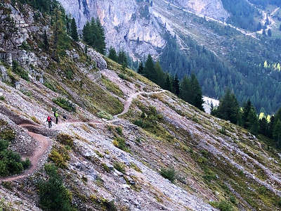 Dolomites - Traverse Day 2 Sassolungo