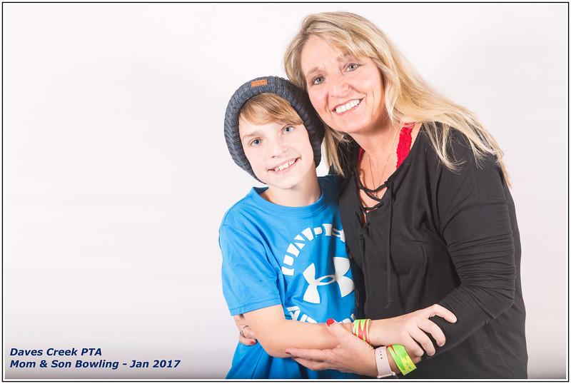 DCE-PTA-Mom & Son Bowling Jan2017