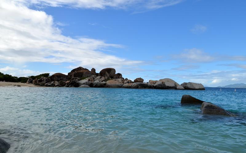 The Baths in British Virgin islands