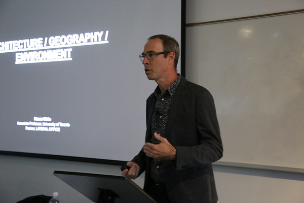 Mason White - Architecture, Geography, Environment - Border Crossing Lecture Series