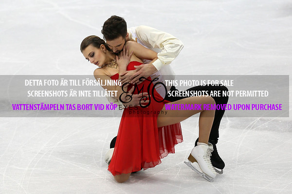 European Championships 2016 Ice Dance Short Dance