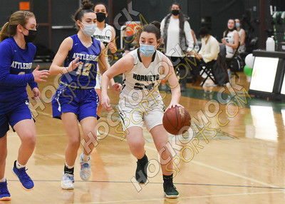 Mansfield - Attleboro Girls Basketball 1-19-21