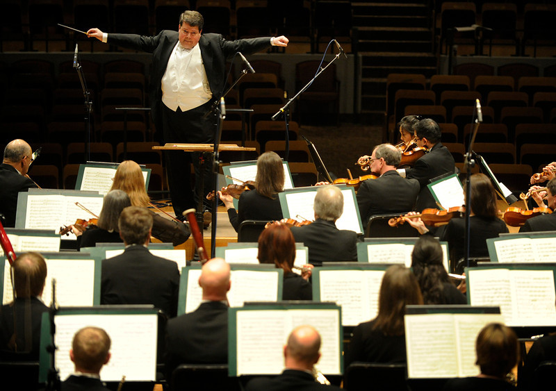 . 3. Andrew Litton performing  Ravel\'s Piano Concerto in G major, Nov. 24.  Litton is a talented conductor but in November he showed just how good a player he is, too. This is how a new maestro wins a city\'s heart. This is a photo of him leading the orchestra from February. photo By Cyrus McCrimmon/The Denver Post.