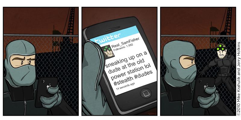 Subterfuge And Social Media