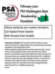 2020 Feb PSA Newsletter