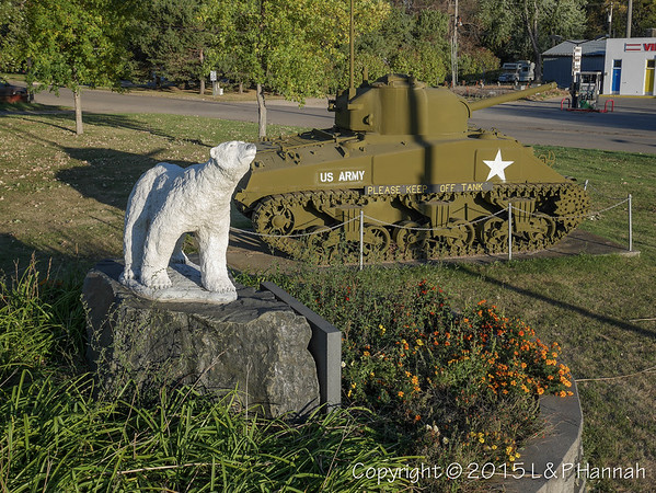 North Dakota VFW, American Legion, Veterans Parks, Monument Vehicles