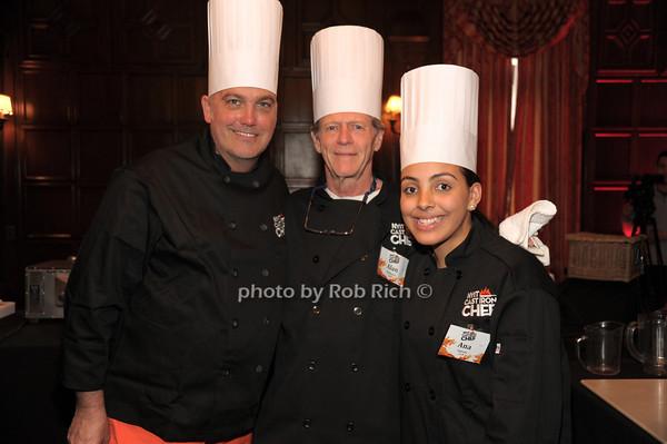 Michael Scarpa-Burnett, Allen Fairbairn, Ana Garcia  photo by Rob Rich/SocietyAllure.com © 2014 robwayne1@aol.com 516-676-3939
