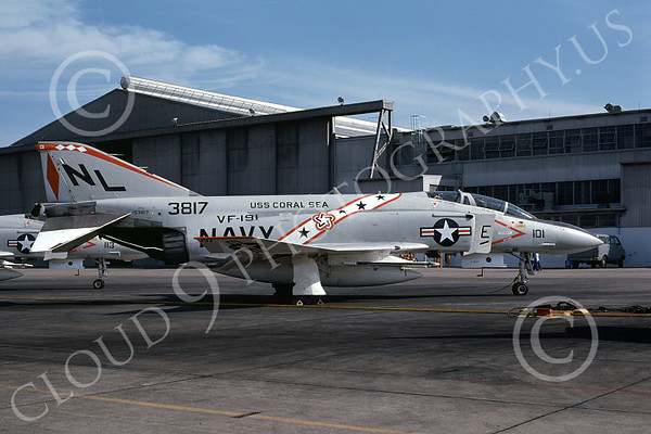 US Navy VF-191 SATAN'S KITTENS Military Airplane Pictures