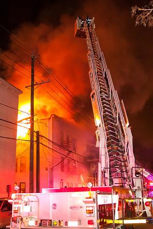 Passaic NJ 5th alarm, 37 Columbia Ave. 05-03-15