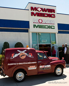 Mower Medic - Ribbon Cutting Ceremony - Sandy Area Chamber of Commerce