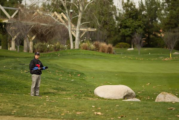 Golf at Coyote Hills 1.14.2012