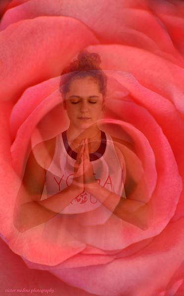 Yoga digital art