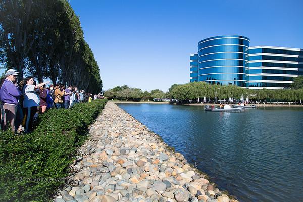 Oracle Team USA Trimaran Installation at Oracle Lagoon