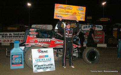 East Bay Raceway USAC 2/27-Tommy Hein Photos