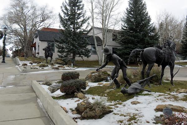 November 23:  Buffalo WY, Decker MT, Sherridan WY .  .  .