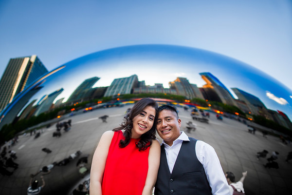 Chicago IL // Engagement // Angelica&Juan