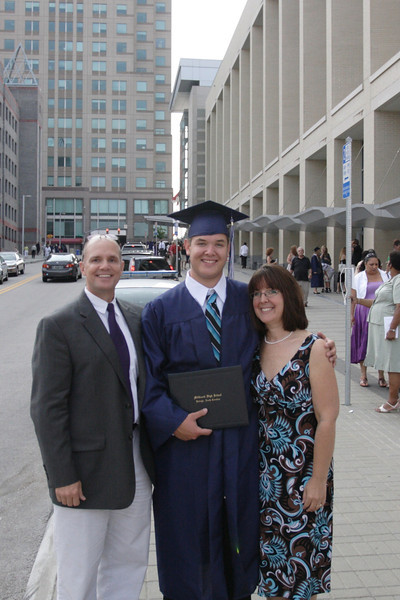 Sean's Graduation from MHS 2011