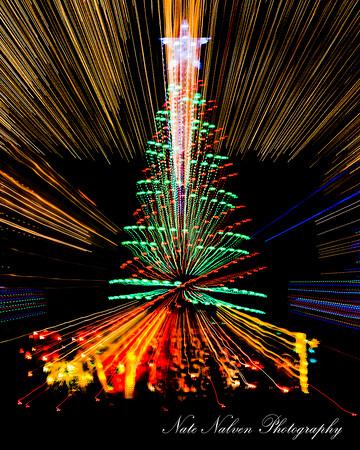 2014 Abstract Christmass Lights