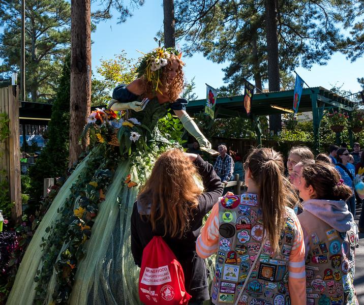 A tall fey at NC State Fair 2016