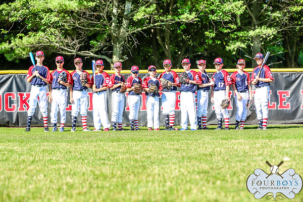2018 12U Williamsport - Team Photos & Game 1