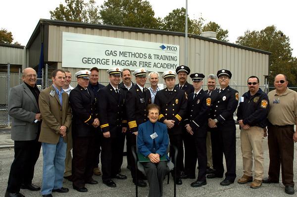 George Haggar Fire Academy