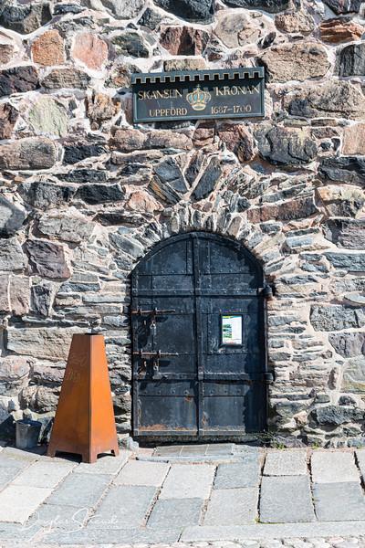 Skansen Kronan entrance