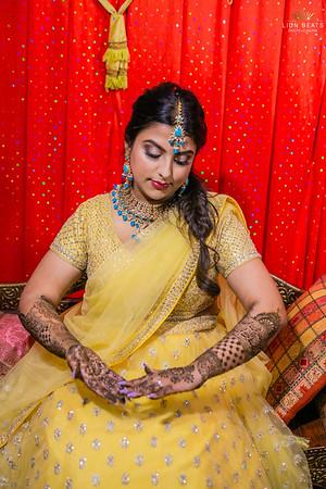 Priyanka's Mehendi