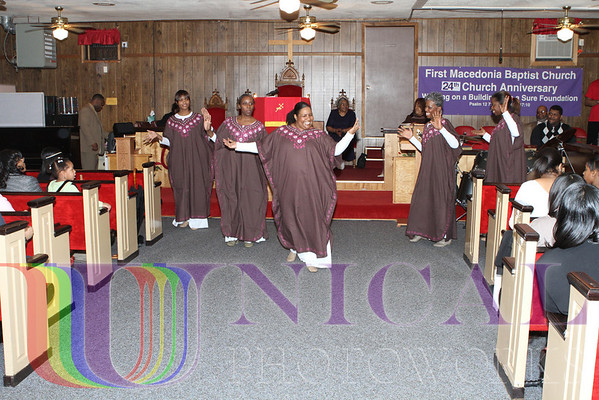 FMBC Angelic Dancers of Praise Anniversary Program Sunday, January 17, 2010 at 3:30PM
