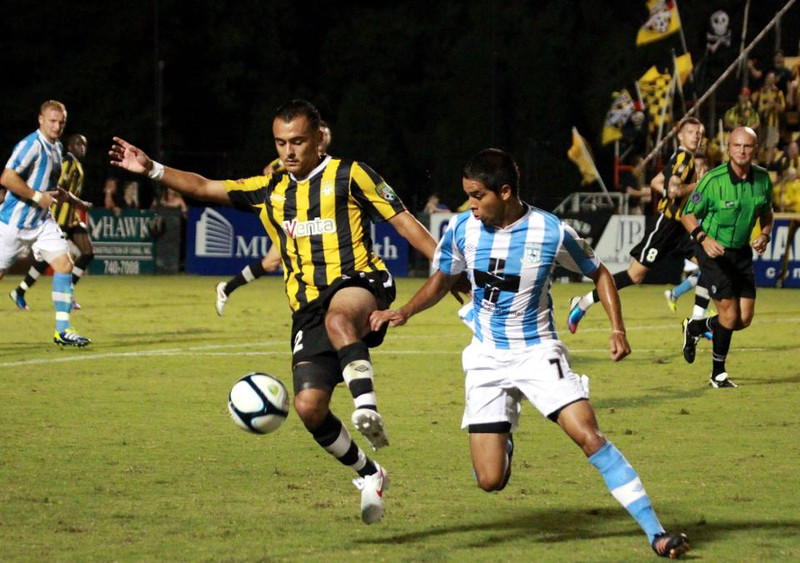 2012 Charleston Battery Jersey,  Jersey by Umbro, sponsor by AvVenta.  20th Anniversary and the Battery claimed their 4th league championship
