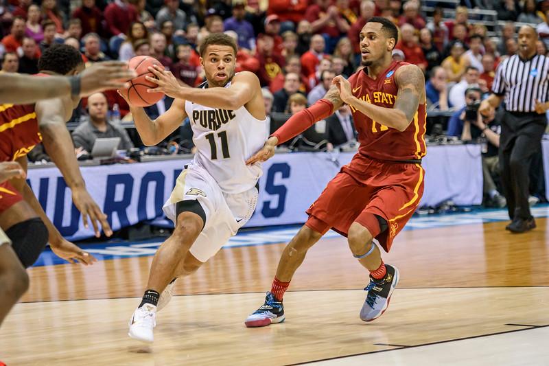 3/16/17 NCAA Tournament, Iowa State, P.J. Thompson