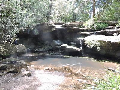 Balaka Falls, Hunts Creek, Carlingford, Sydney, NSW  - Australia