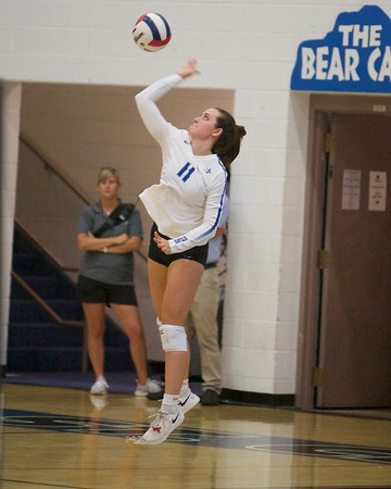 St. Charles North vs Rosary Volleyball