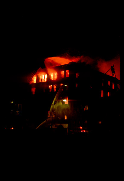 Downtown Providence RI Fire 1978