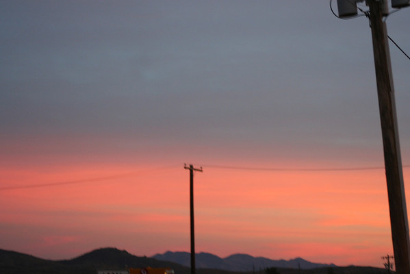 February 2007 Arizona Sunsets