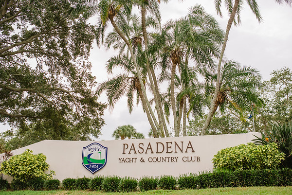 Pasadena Yacht Country Club Wedding St Pete Florida