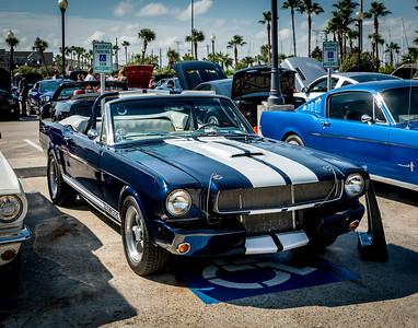 Kemah Boardwalk Mustang Car Show 2015