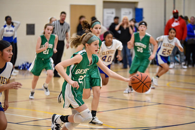 02/27 - Geneseo 7th Girls Basketball vs Glenview