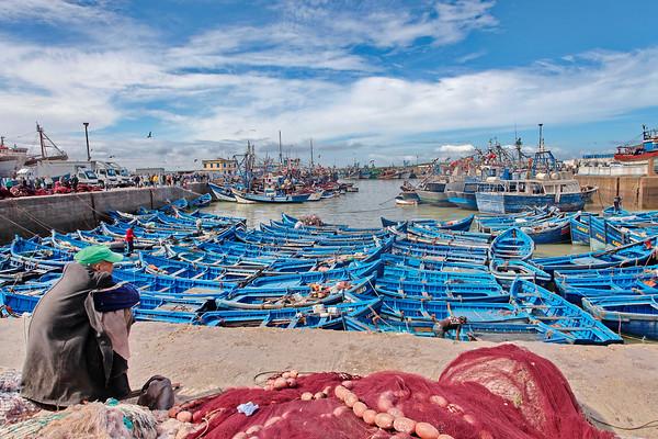 Les barques d'Essaouira