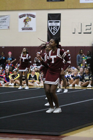 Kaila Towson Cheer Competition 2018