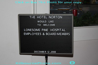 Lonesome Pine Hopsital Christmas Dinner 2008