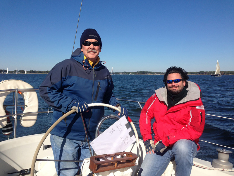 10/26 Closing Day Regatta Rob Whittet, Steve Utley on Wavelength