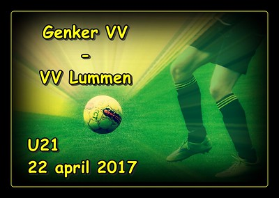Genker VV - VV Lummen  U21  22/04/2017