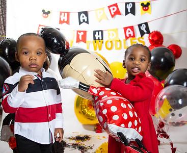Kaeden and Kae'lani 2 year old birthday photo shoot (2.2.2020)