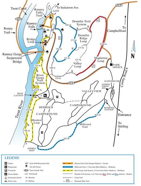 Ferris Provincial Park Map