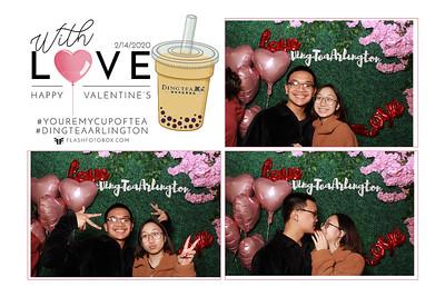 Ding Tea Arlington Valentines 2020