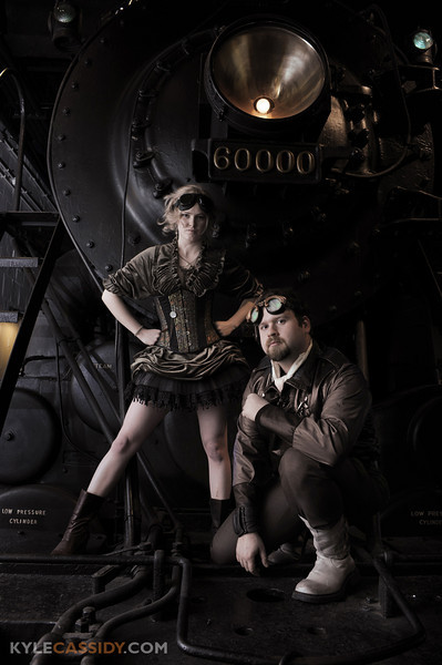 Steampunk - Models: Liza James & Jared Axelrod