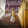 Coming Down the Stairs, Mehrangarh, Jodhpur, India