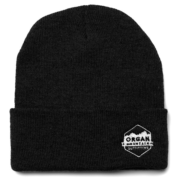 Outdoor Apparel - Organ Mountain Outfitters - Hat - 12 Inch Knit Beanie - Black.jpg